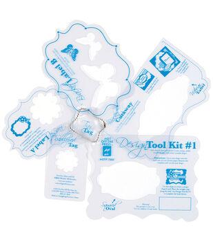 """Templates 12""""X12""""-Design Tool Kit #1"""