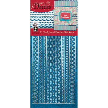 Jewel Teal-dazzles Stickers