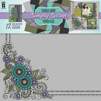 Hot Off The Press Paper Pack Simply Susan