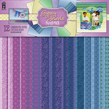 Hot Off The Press Paper Pack Gypsy Jewels