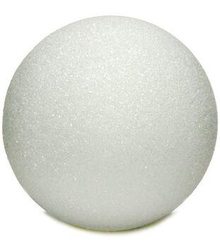 Styrofoam 6'' Balls-1PK/White