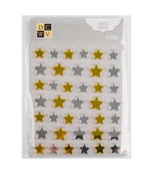 DCWV Mini Adhesive Mirrors: Stars