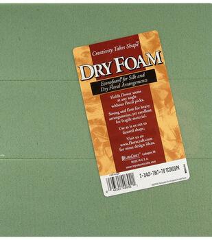 """Dry Foam Blocks 2-3/4""""X3-7/8""""X7-7/8"""" 3Pk-Green"""