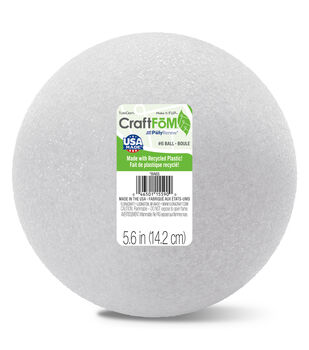 Styrofoam 6'' Ball