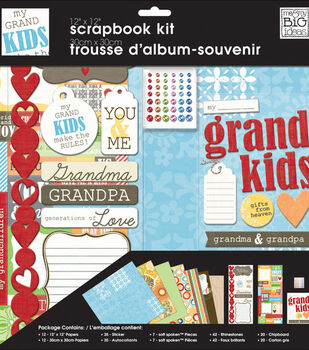 Me & My Big Ideas 12''x12'' Page Kit-My Grandkids