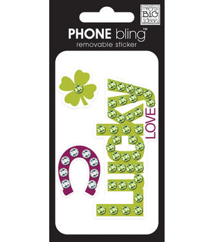 Phone Bling Stickers-Lucky Multicolor