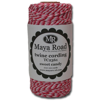 Maya Road Twine Cording Sweet Candy