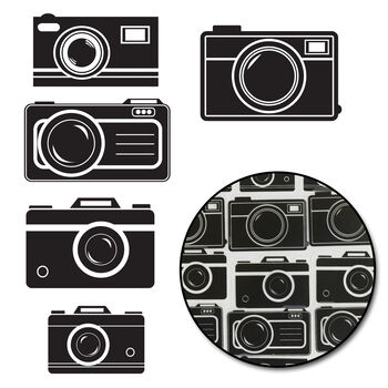 Maya Road Transparencies Die-Cuts Picture Perfect Camera