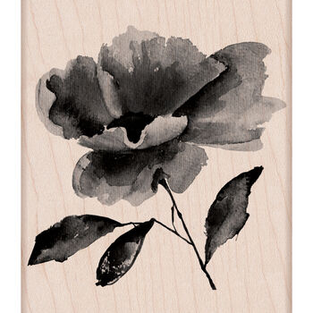 Hero Arts Mounted Rubber Stamps Painted Flower