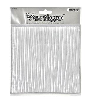 """Vertigo Film Translucent Patterned Sheets 6""""X6"""" 3/Pkg"""