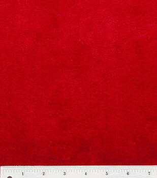 Red Ultra Cuddle Fabric