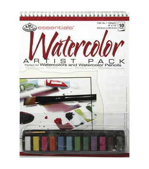 Royal Brush Essentials Artist Pack-Watercolor