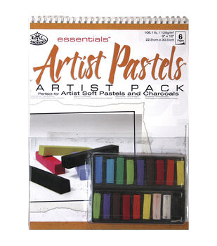 Royal Brush Essentials Artist Pack-Artist Pastels