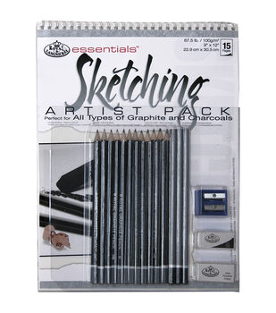 Royal Brush Essentials Artist Pack-Sketching