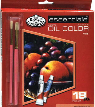 Royal Brush Essentials 12 mL Oil Paint Set-18PK