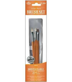 Value Pack Brush Sets-Bristle/Sable