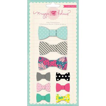 Crate Paper Flea Market Adhesive Fabric Bows