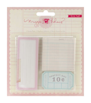 Styleboard Sticky Notes 3 Pads/Pkg-10 Sheets Each