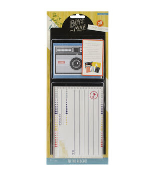"Boys Rule Journaling Cards 20/Pkg-3""X4"" & 4""X6"""