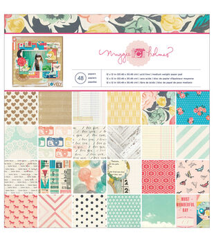 """Styleboard paper Pad 12""""X12"""" 48/Sheets-Single-Sided"""