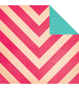 """Oh Darling Double-Sided Cardstock 12""""X12""""-Sweetie Pie"""