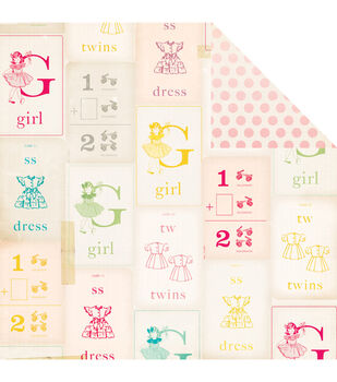 """Oh Darling Double-Sided Cardstock 12""""X12""""-My Girl"""