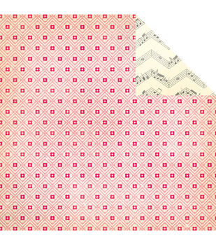"""Oh Darling Double-Sided Cardstock 12""""X12""""-Cutie"""