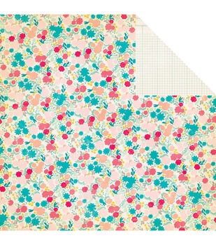 """Oh Darling Double-Sided Cardstock 12""""X12""""-Playtime"""