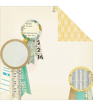 "Styleboard Double-Sided Cardstock 12""X12""-First Prize"