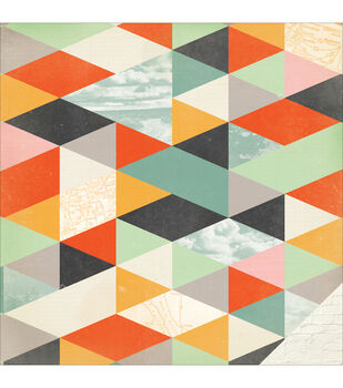 """Open Road Double-Sided Cardstock 12""""X12""""-Big Sky"""