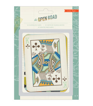 Open Road Journaling Cards 25/Pkg