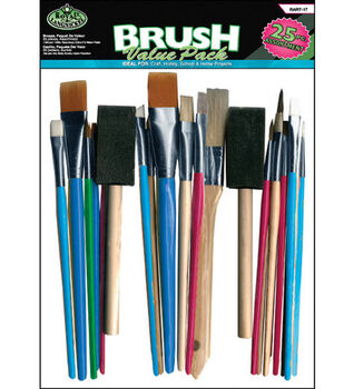 Brush Value Pack 25/Pkg