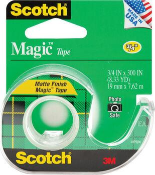 3M Scotch Magic Tape-3/4''x300''/Matte