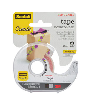 Scotch Removable Double Sided Photo & Document Tape