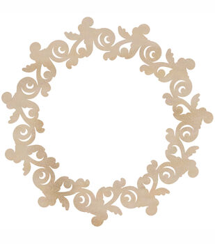 Rosewreath-Wood Flourishes