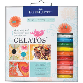 Faber-Castell Designing With Gelatos Colors Kit