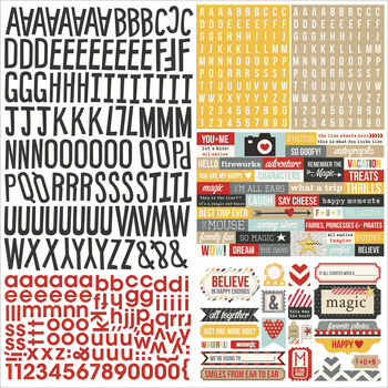 Simple Stories Say Cheese Cardstock Stickers Expressions