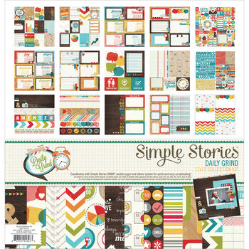 Simple Stories Daily Grind Collection Kit