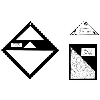 Stacystamps Triangle Tag Template