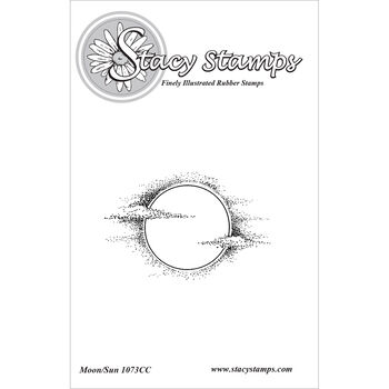 Stacy Stamps Cling Mounted Stamps Moon Sun