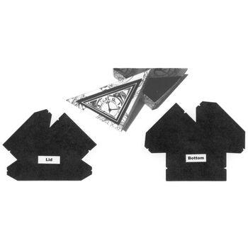 Stacystamps Medium Triangle Trinket Box Template