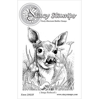 Stacy Stamps Cling Mounted Stamps Fawn