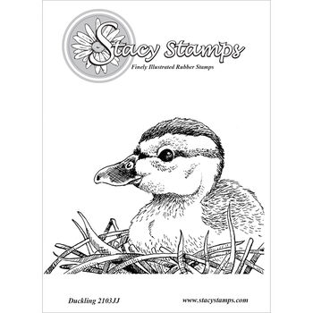 Stacy Stamps Cling Mounted Stamps Duckling