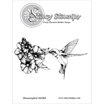 Stacy Stamps Cling Mounted Stamps Hummingbird