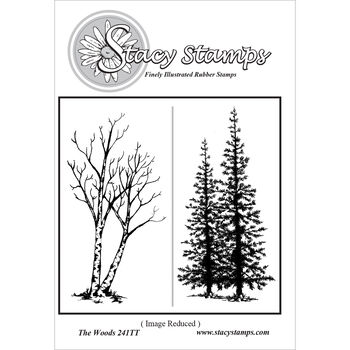 Stacy Stamps Cling Mounted Stamps The Woods