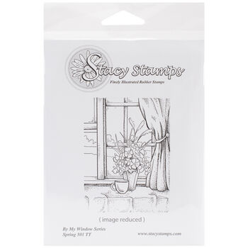 Stacystamps By My Window Series Cling Mounted Stamps Spring