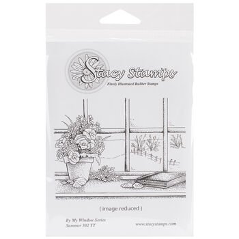 Stacystamps By My Window Series Cling Mounted Stamps Summer