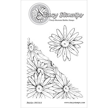 Stacy Stamps Cling Mounted Stamps Daisies