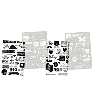 Simple Stories DIY Insta Stickers - Words