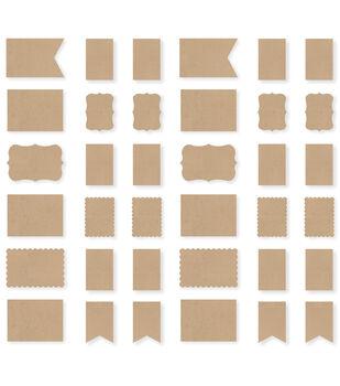 Simple Stories DIY Foundation Cards - Kraft